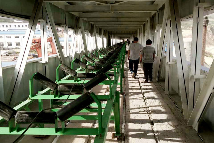 Shaanxi Conveyor Project