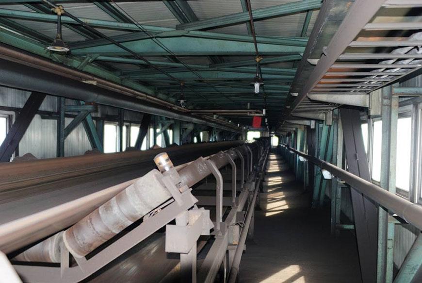 Yuhetai Coal High-power Conveyor Project